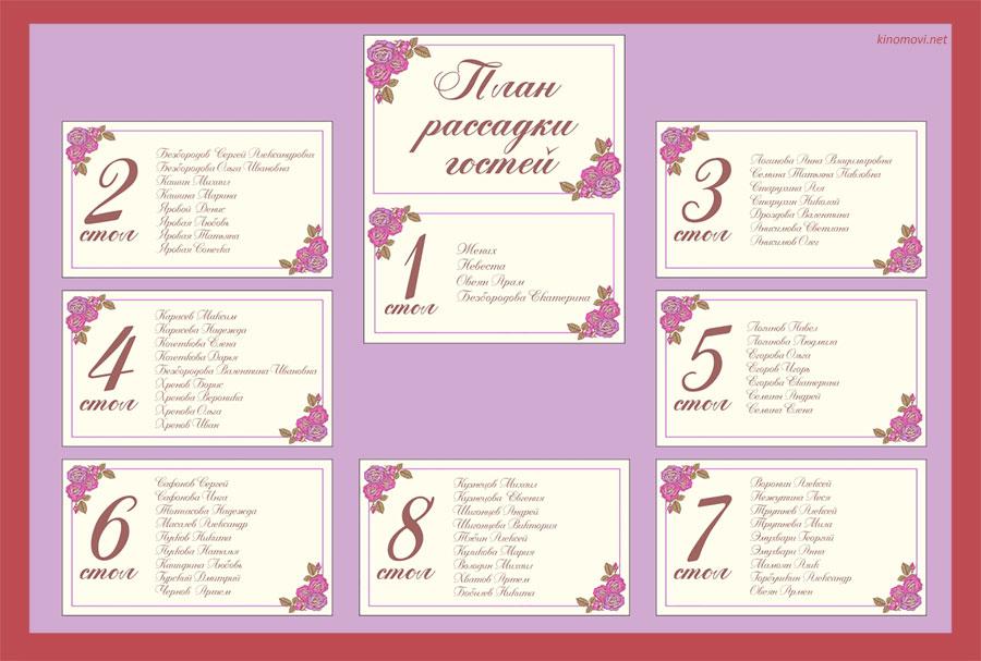 Как составить список гостей на свадьбу - Женский 72