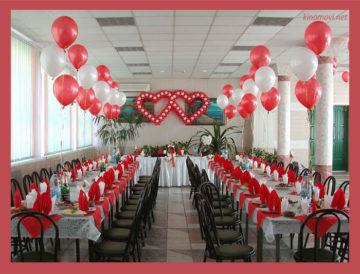 шарики светящиеся на свадьбу