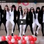 Танец, вызывающий оптическую иллюзию