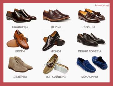 вид обуви