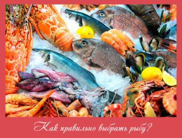 Как правильно выбрать рыбу?
